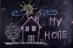 Minha HOME Foto de Stock Royalty Free