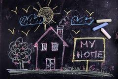 Minha HOME Imagem de Stock Royalty Free