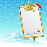 Minha Presente-lista para Santa Claus Fotos de Stock Royalty Free