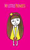 Minha princesa pequena Imagem de Stock