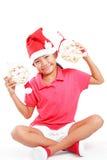 Minha Santa Claus foto de stock royalty free