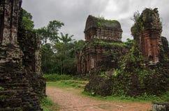 Minhas ruínas do templo do filho Imagem de Stock