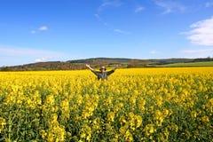 Minhas terras Foto de Stock