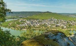 Minheim op de Moezel Duitsland royalty-vrije stock foto's
