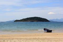 Mini łódź Zdjęcia Stock