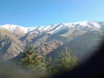 Mini Śnieżne góry Zdjęcia Royalty Free