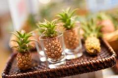 Mini abacaxis em Okinawa Fotografia de Stock