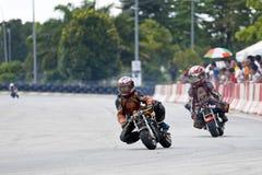 Mini acción del campeonato de la bici Fotos de archivo