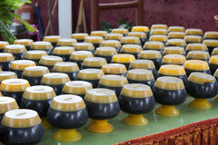 Mini Alms bowl Royalty Free Stock Photography