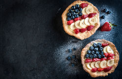 Mini American Pies Stock Photography