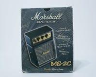 THE BOX OF MY MARSHALITO stock image
