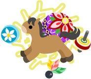 Mini Animal - häst Royaltyfri Bild