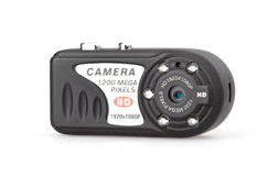 Mini appareil-photo d'espion Photographie stock libre de droits