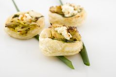Mini appetizer Stock Photography