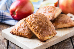 Mini apple cinnamon strudel Royalty Free Stock Images