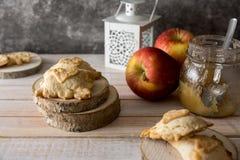 Mini Apple pie Stock Photo