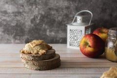 Mini Apple pie Stock Image