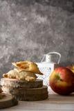 Mini Apple pie Stock Images