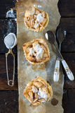 Mini apple pies Stock Photography