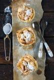 Mini apple pies Stock Photography