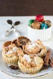 Mini apple pies Stock Photo