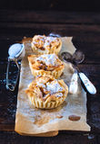 Mini apple pies Stock Images