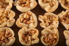 Mini Apple Tarts Fotografia Stock