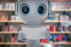 Mini apprendimento del robot illustrazione di stock