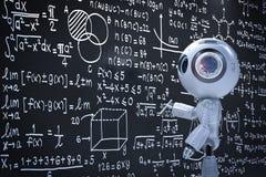Mini aprendizaje del robot libre illustration