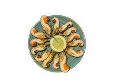 Mini aragoste Immagine Stock