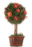 Mini arbre de Noël Photo libre de droits