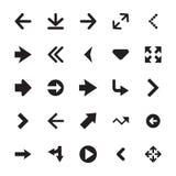 Mini Arrows Vector Icons 2 Royalty Free Stock Photography