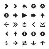 Mini Arrows Vector Icons Royalty Free Stock Photos
