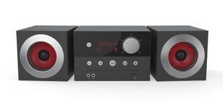 Mini audio sistema Fotografia Stock