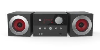 Mini audio system Stock Photo