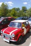 Mini auto royalty-vrije stock afbeeldingen