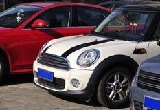 Mini Auto Royalty-vrije Stock Foto's