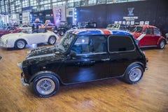 MINI automobile dell'annata della generazione Fotografie Stock Libere da Diritti
