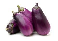 Mini Baby Eggplant fotografia de stock royalty free