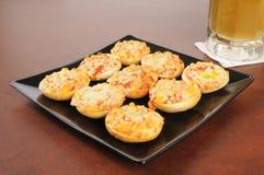 Mini- pizzabaglar Royaltyfri Bild