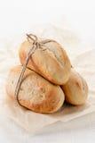 Mini baguette francesi casalinghe Fotografia Stock