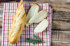 Mini baguettes françaises Images libres de droits
