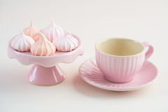 Mini baisers de meringue Image stock