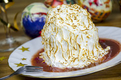 Mini baked Alaska Royalty Free Stock Photos