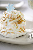 Mini baked Alaska Stock Photos