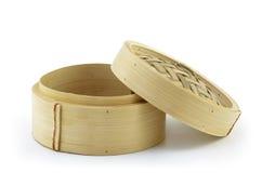 Mini bamboestoomboot Royalty-vrije Stock Foto