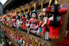 Mini bambola della Cina Fotografie Stock