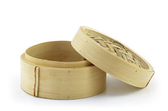 Mini bamboo steamer Royalty Free Stock Photo