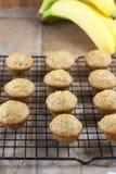 Mini Banan Muffins Royalty Free Stock Image
