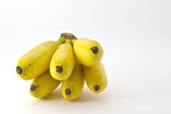 Mini banany Zdjęcia Royalty Free